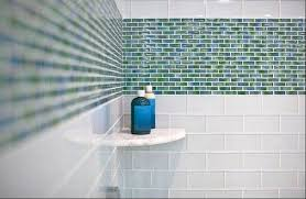 tile from floors to the wall