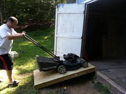 28 how to build a lawn mower ramp mower loading ramps