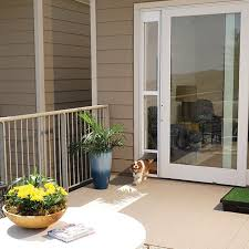 Petsafe Freedom Patio Panel Pet Door by Shop For Sliding Glass Pet Door For Frames Up To 81