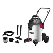 Husky 10 Gal Stainless Steel Wet Dry Vacuum The Home Depot