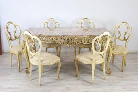20th Century Italian Baroque Style Carved Lacquered Gilded Wood Dining Table Cynthia Rowley For Hooker Fniture Shangrila Gilded Ding Queenie Eileenie The Room Classic Luxury Villa Interior Design Doha Qatar Cas Ding Room Interior Funcash Kitchen Dinette Chair Set Of 2 Golden Pu Leather Backrest Metal Legs Age Phillip Jeffries Gildedthronecom Classic Modern Contemporary Online Home 4 Oval Caned Back Regency Style Arm Or Chairs With Details Why A Bergre Is The Perfect And Where To Find Upholstered With Arms Antique Mahogany Wooden Finish Buy Armsantique Am Private Meeting Marion Flipse Partners