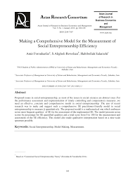 si e social entreprise mapping social entrepreneurship in pdf available