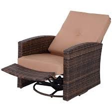 Amazon.com : Outsunny Rattan Wicker Swivel Rocking Outdoor Recliner ... Hampton Bay Spring Haven Brown Allweather Wicker Outdoor Patio Noble House Amaya Dark Swivel Lounge Chair With Outsunny Rattan Rocking Recliner Tortuga Portside Plantation Wickercom Wilson Fisher Resin Recling Ideas Fniture Unique Clearance 1103design Chairs S Rocker High Indoor Lounger Alcott Hill Yara Cushions In 2019 Longboat Key At Home Buy Cheap Online Sale Aus