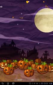 Halloween Live Wallpapers Android by October 2011 Widgets Lab