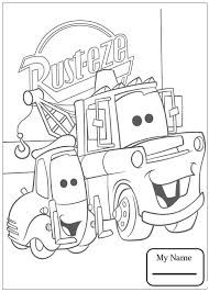 Disney Cars Cartoons Chick Hicks Leaves Mcqueen Behind Coloring Pages For Kids