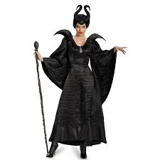 Halloween Express Baton Rouge by Maleficent Deluxe Christening Black Gown Costume