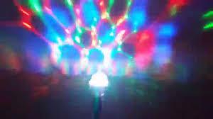 sharper image light rotating disco bulb