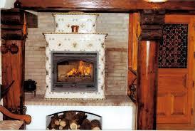 poele cheminée faience poêle en faïence atelier régnier