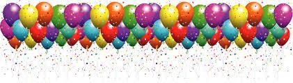 Happy Birthday Balloon Clipart library Kids Birthday Parties