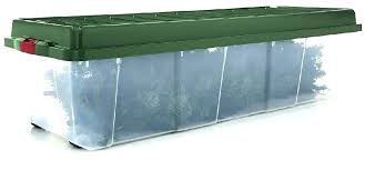 Christmas Tree Storage Container Artificial Intended For Containers 710