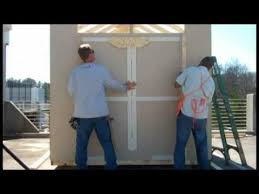 Everton 8 X 12 Wood Shed by How To Build A Shed The Home Depot Youtube