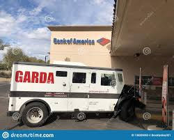 100 Garda Trucks Armored Truck Parked At A Bank Editorial Stock Photo Image