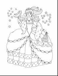 Fantastic Disney Princess Coloring Pages With Color And Frozen