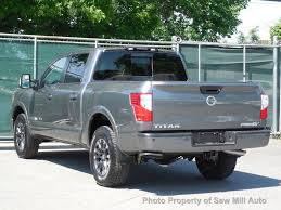 2018 Used Nissan Titan PRO-4X 4x4 Crew Cab W/Navigation At Saw Mill ...