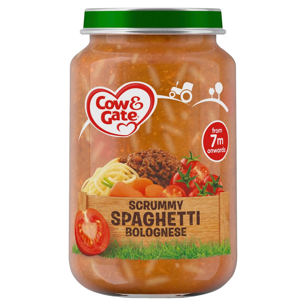 Cow and Gate Scrummy Spaghetti Bolognese Jar - 200g