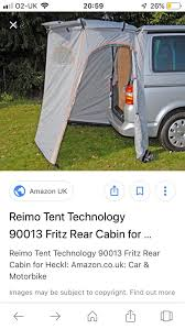 100 Fritz 5 Rear Cabin Awning For VW Camper
