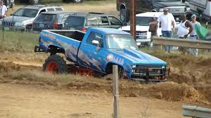 100 Jacked Up Mud Trucks CHEVY 4X4 SHORT BED MUD TRUCK BOGGER TRACTOR TIRE JACKED UP