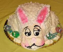 Coconut Bunny Cake An Easter Tradition