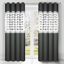 2er set gardinen fertiggardine panel weiß vorhang wohnzimmer