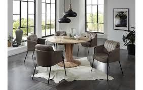 runder design esstisch in akazie 483600098 1 möbel und