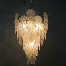 murano glass chandelier italy image for glass chandelier