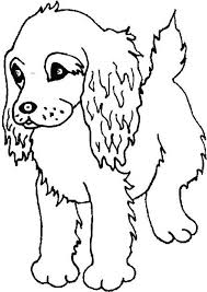 Puppy Coloring Sheets Baby Pages