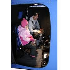 Clam Ice Fishing Seats by Clam 8200 2000 Portable 2 Person 4 U0027 X 6 U0027 Ice Fishing Cabin Shelter