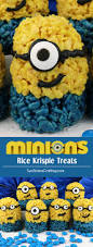 Rice Krispie Treats Halloween Theme by Minions Rice Krispie Treats Minion Food Family Movies And Rice