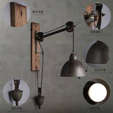 american country style wall light industry retro bar creative