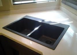 Drop In Bathroom Sink With Granite Countertop by Get Your Sink Replaced Or Repaired By Corian Certified Tech
