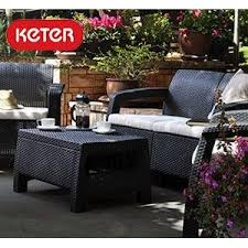 Keter Rattan Lounge Chairs by Amazon Com Keter Pacific 2 Pack All Weather Adjustable Outdoor