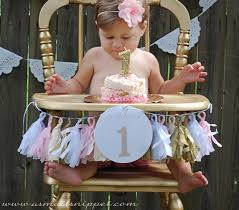 Pink And Gold First Birthday Party   A Small Snippet Buy 1st Birthday Boy Decorations Kit Beautiful Colors For Girl First Gifts Baby Hallmark Watsons Party Holy City Chic Interior Landing Page Html Template Pirate Shark High Chair Decoration Amazoncom Glitter Photo Garland Pink Toys Games Mickey Mouse Decorating Turning One Flag Banner To And Gold