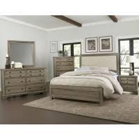 Vaughan Bassett Dresser With Mirror by Vaughan Bassett Furniture Company Bedroom