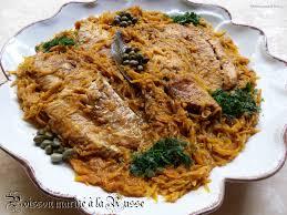 recette de cuisine avec du poisson poisson mariné a la russe recettes voyageuses de barbara