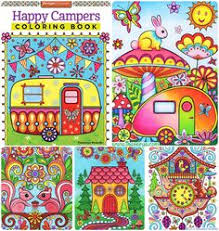 Happy Campers Coloring Book By Thaneeya McArdle Amazon