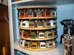 Pantry Cabinet Shelving Ideas by Best 25 Lazy Susan Spice Rack Ideas On Pinterest Small Kitchen