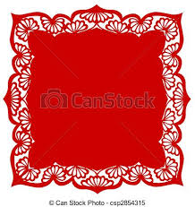 Chinese Paper Cutting Flower