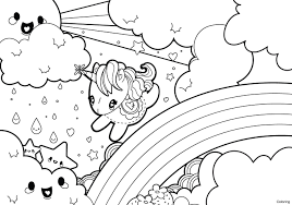 Cute Unicorn Coloring Pages Awesome Cute Unicorn Coloring Pages For