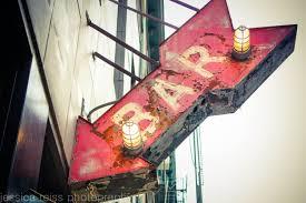 Bar Sign Art Print Decor Vintage Rustic Industrial Home
