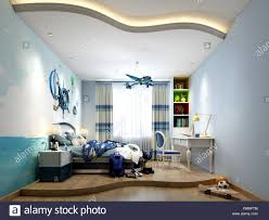 Home Interior Pics 3d Render Home Interior Schlafzimmer Stockfotografie Alamy