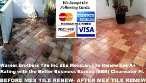 mexicantile mexican tile cleaning