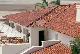 redland clay tile sedona blend color white stucco white