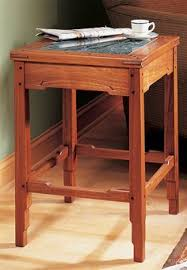 looking to make this triangle side table fine woodworking