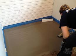 Wood Floor Leveling Filler by How To Patch And Level A Concrete Subfloor Pretty Handy