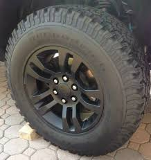 Gunmetal Wheels On Tungsten Metallic Truck? - 2014-2018 Silverado ...