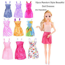 Amazoncom ZtuoYong 72 Pack Doll Clothes Set For Barbie Doll