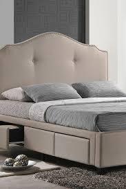 ما الذي يجعل السرير المنجد مع صندوق السرير مميز ا جد ا