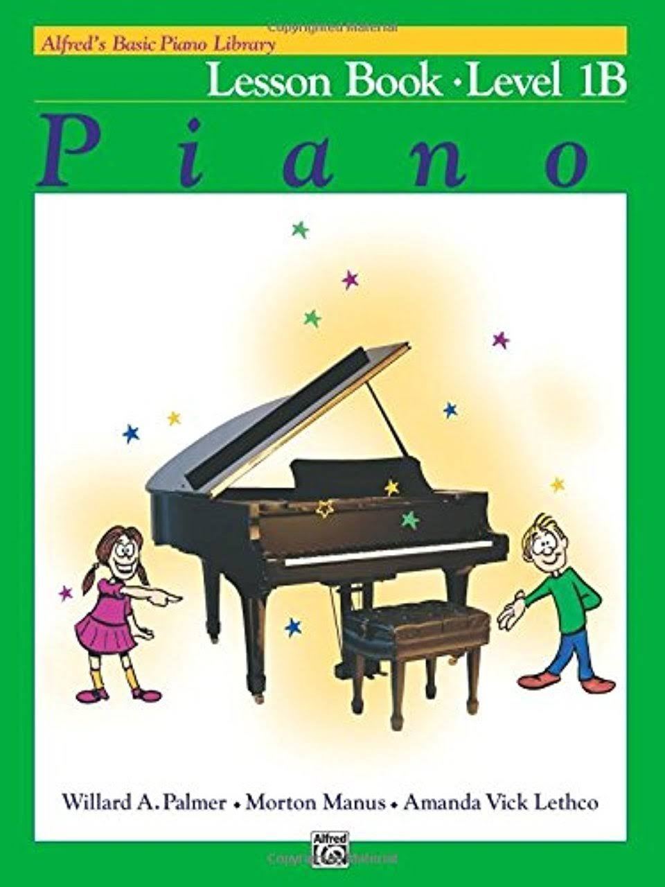 Alfred's Basic Piano Library - Alfreds Theory Book Level 1B