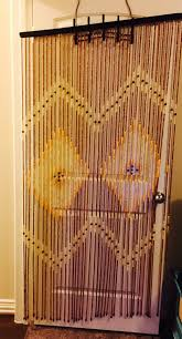 Door Bead Curtains Ebay by 1960s Vintage Wood Door Curtain Available Etsy Com Shop