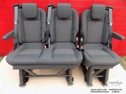 siege ford seat ford transit custom 2013 2017 bench rear seats set brackets